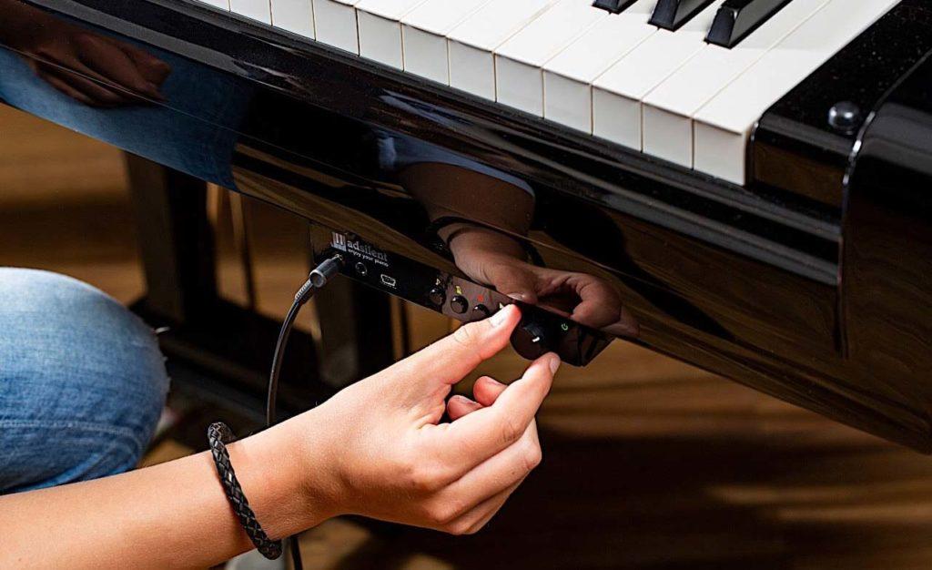adsilent - Stummschaltung für Piano